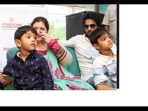 Actor Sudheer Babu Family Video