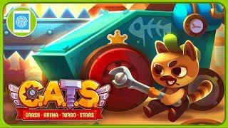 Уличные коты и боевые машины в PvP игре CATS: Crash Arena Turbo Stars от ZeptoLab * iOS | Android