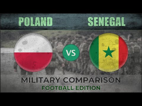 POLAND vs SENEGAL - Military Power Ranking - 2018 [FOOTBALL EDITION]