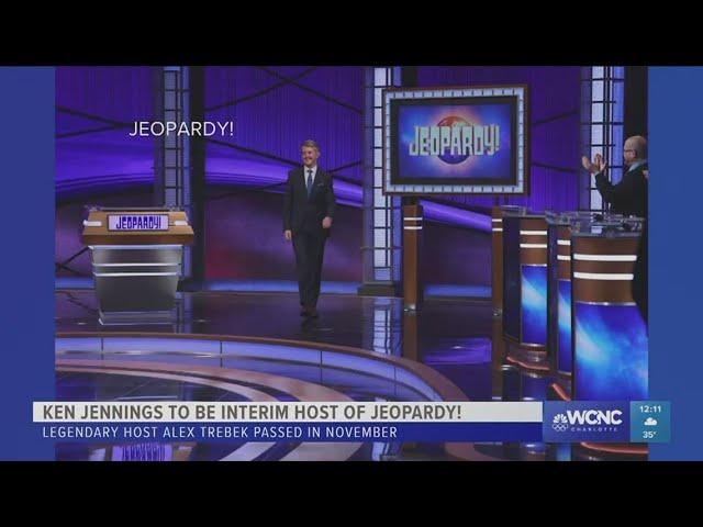 "Ken Jennings starts as Jeopardy! guest host Monday, says Alex Trebek did \""impressive, perfect job\"""
