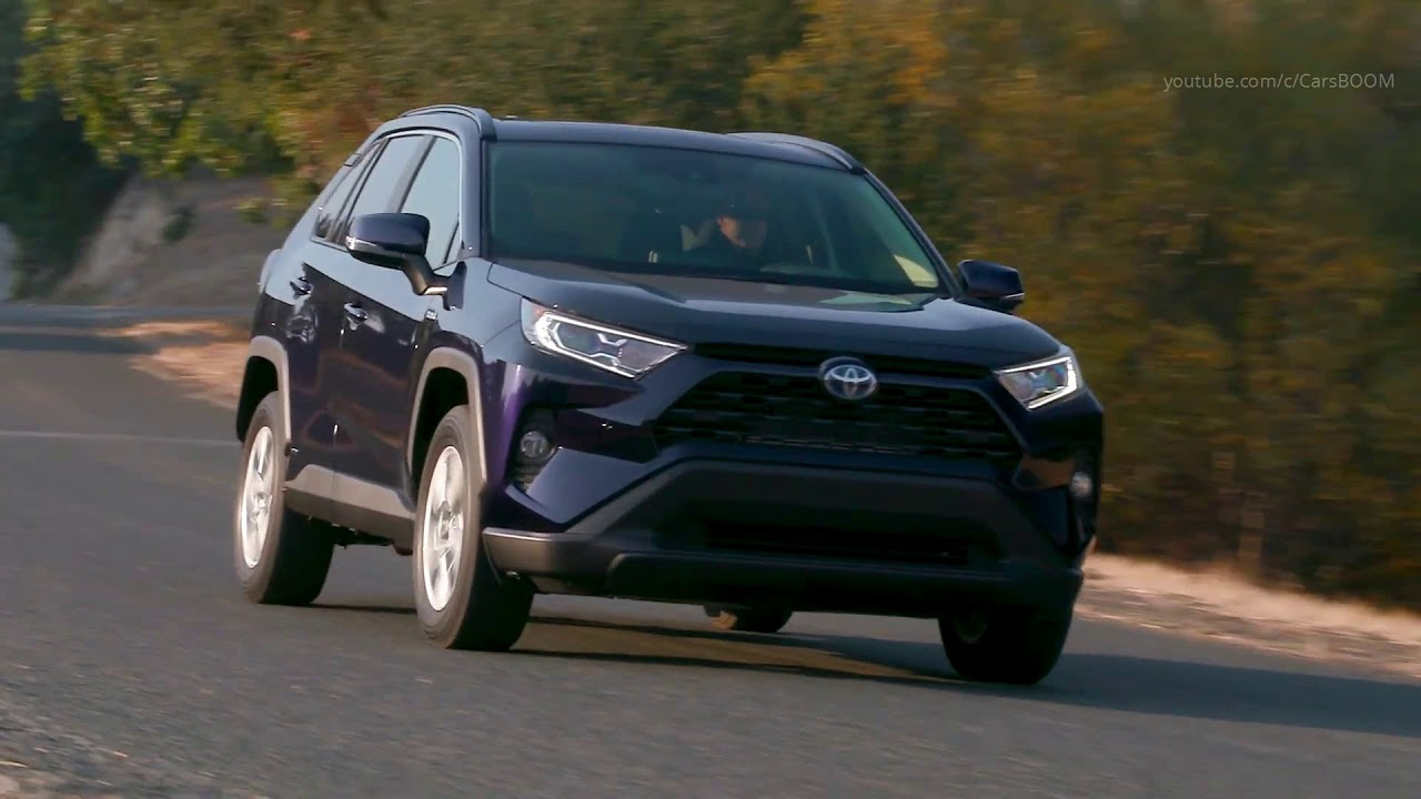 All New 2019 Toyota Rav4 Xle Hv Blueprint Youtube