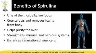 Spirulina weight loss review another Spirulina Benefit