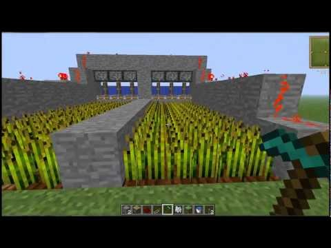 Minecraft Tutorial Granja Automatica De Trigo By Elfalso Pastor