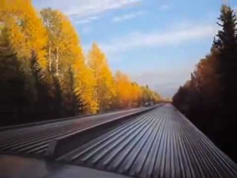 Via rail - Toronto to Edmonton by Train -