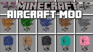 minecraft aircrafts mod 100 different types of aircrafts minecraft