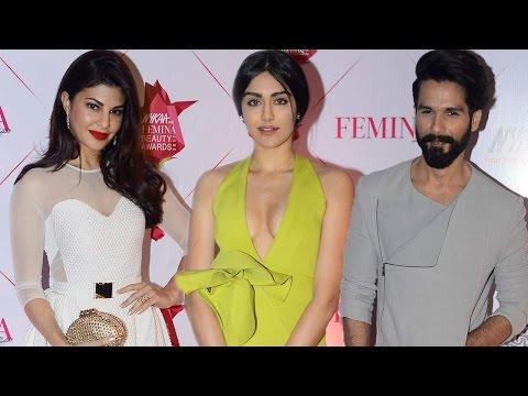 Femina Beauty Awards 2017 Red Carpet | Jacqueline Fernandez, Adah Sharma, Shahid Kapoor