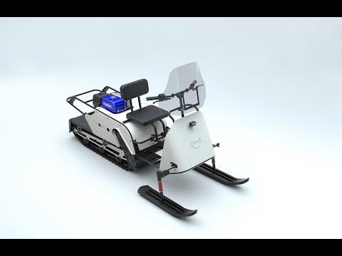 Новинка 2020 года - SnowDog Yamaha, первый в мире мотобуксировщик с двигателем YAMAHA