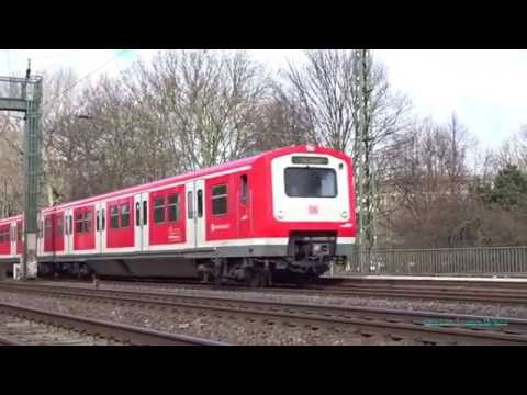 S-Bahn in Hamburg, Germany (regional train)