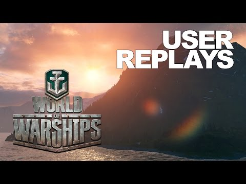 World of Warships - User Replays by Alelos and Blank_Senpai