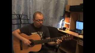 Урок 8. Простые аккорды для гитары. Аккорд Dm, ре минор