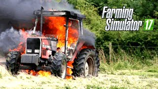 INCENDIO IN FATTORIA! - MOD POMPIERI, POLIZIA, AMBULANZA - FARMING SIMULATOR 2017 GAMEPLAY ITA