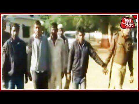 आज सुबह: उत्तर प्रदेश मैं एनकाउंटर बाद 4 बदमाशों को किया गिरफ्तार