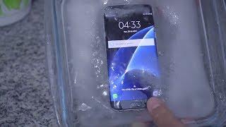 Galaxy S7 edge Congelado: Será que sobreviveu? Assista!