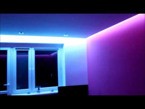 Pomysł Na Sufit Obniżony Oświetlenie Obwód Pomieszczenia