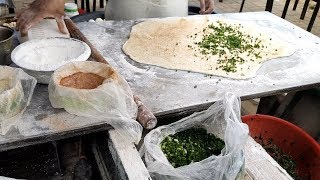醬香餅-大陸街頭小吃   Sauce-aroma pancake China street food