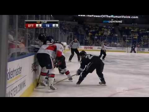 Вспомнить всё: 2009-10-29 Ottawa Senators vs  Tampa Bay Lightning
