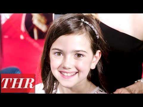 Abby Ryder Fortson on the 'Ant-Man and the Wasp' Premiere Red Carpet | THR