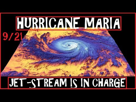 Hurricane MARIA JET-STREAM Will Determine East Coast Fate