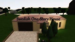 Roblox | Welcome to BloxBurg: Swedish One-Story House