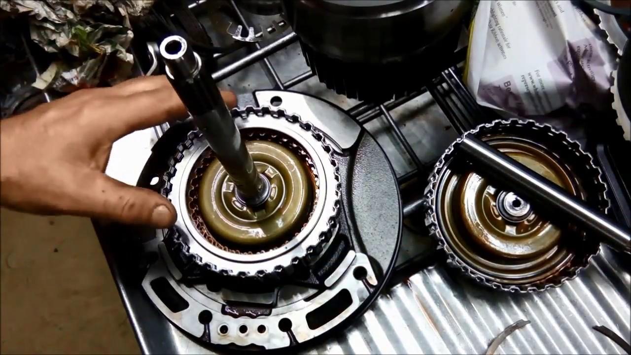 Mazda 6 Fn4ael    Ford 4f27e Auto Transmission Rebuild Overhaul 2 Of 3