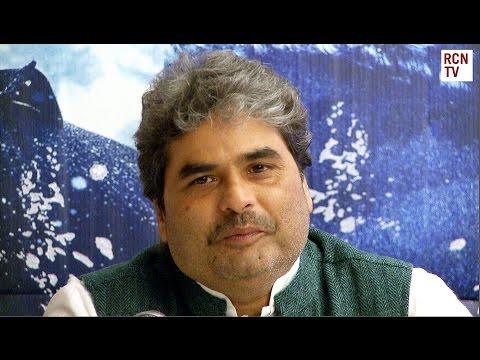 Haider Vishal Bhardwaj Interview - Filming In Kashmir