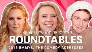 Repeat youtube video Amy Schumer, Lena Dunham, Gina Rodriguez and More Actresses on THR's Roundtables | Emmys 2016
