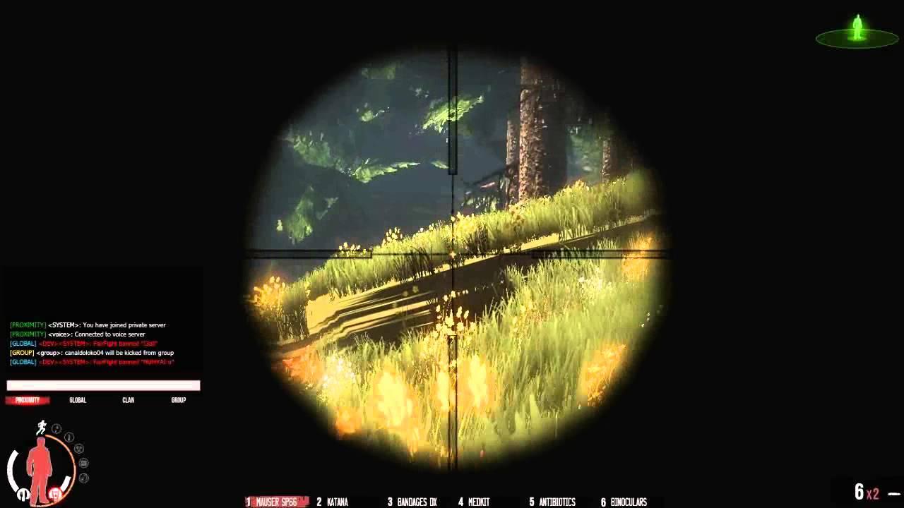 Treino de Sniper do Clan Os Pilantras (OPIL) Mauser Sp66