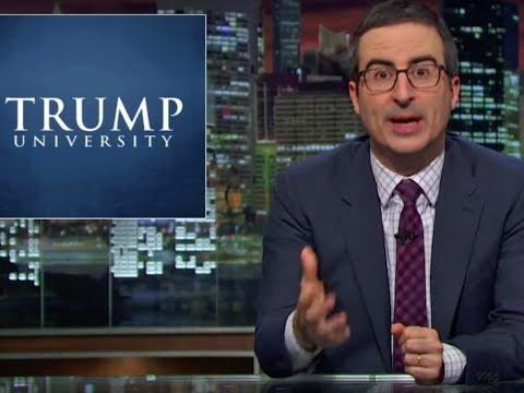 Back to Trump University (HBO) - Last Week Tonight with John Oliver