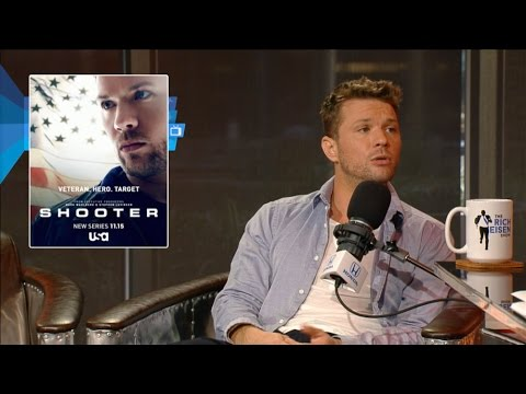 "Actor Ryan Phillippe of USA Network's ""Shooter"" Joins The RE Show in Studio"