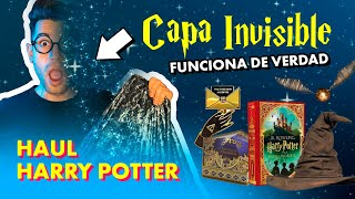 HAUL GIGANTE de HARRY POTTER ⚡️ Capa Invisible 🔺 ¡FUNCIONA!