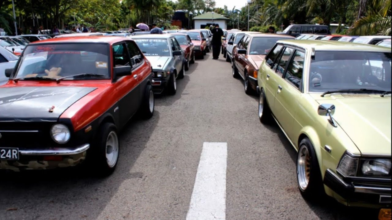 sabah old school car owner club first annual gathering