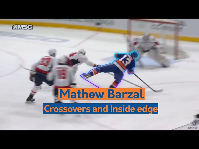 Mathew Barzal | Crossovers and Inside Edge.