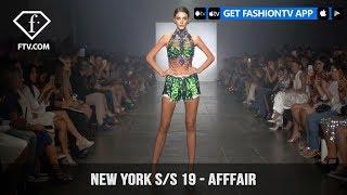New York Fashion Week Spring/Summer 2019 - AFFFAIR | FashionTV | FTV