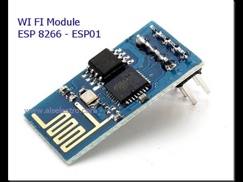 WIFI module ESP8266 - AT commands & sending Data to WebBrowser