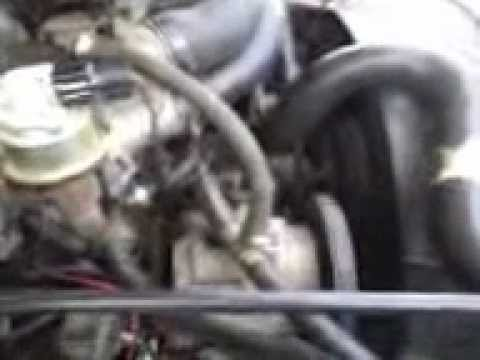 1986 Ford f150 bad vacuum lines truck was running very rich - YouTube