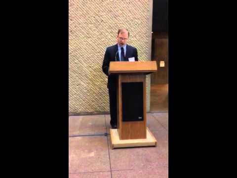 Benjamin K. M. Kellogg Speech at Everson Museum of Art, Syracuse, NY-UNIQUE Magazine 2015