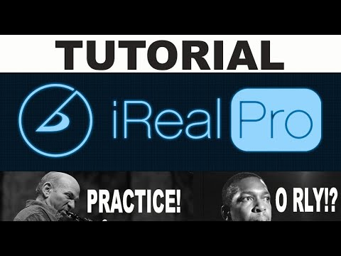 IReal Pro Tutorial Review - Backing Track, Jazz Standard