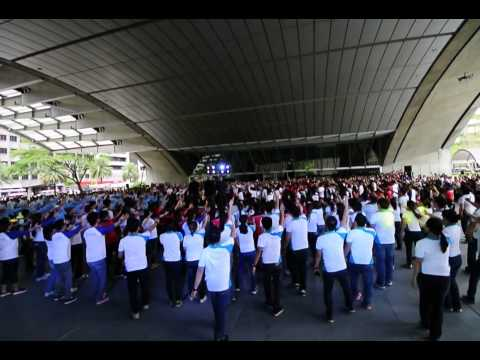 2014.04.08 JZA Flashmob by the Ayala Group of Companies