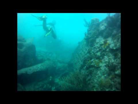 Sara's Antigua Wreck Dive