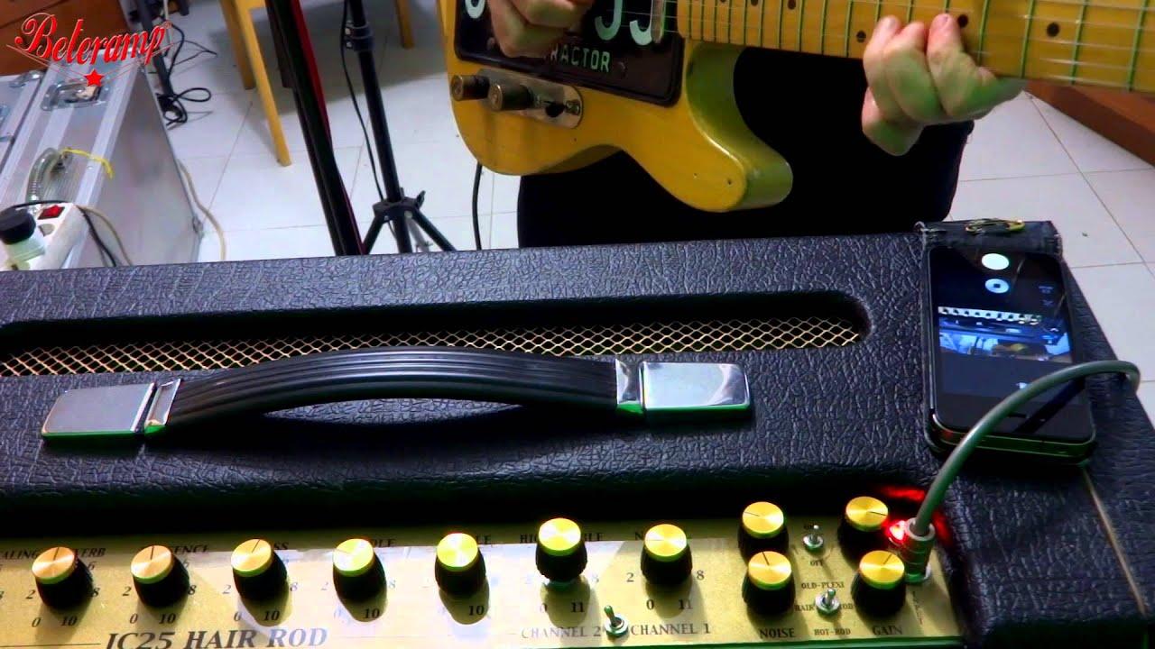 BETERAMP - Amazing custom tube amps ! - THE SUPER-PLEXI ROCK AMP