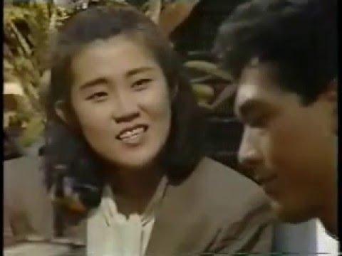 「空港で待つ女」 1989(平成元)年11月25日放送、TBSドラマ。 山田邦子、鶴見辰吾、松澤一之、秋本奈緒美、RIKACO、国広富之、宇津井健 ほか.