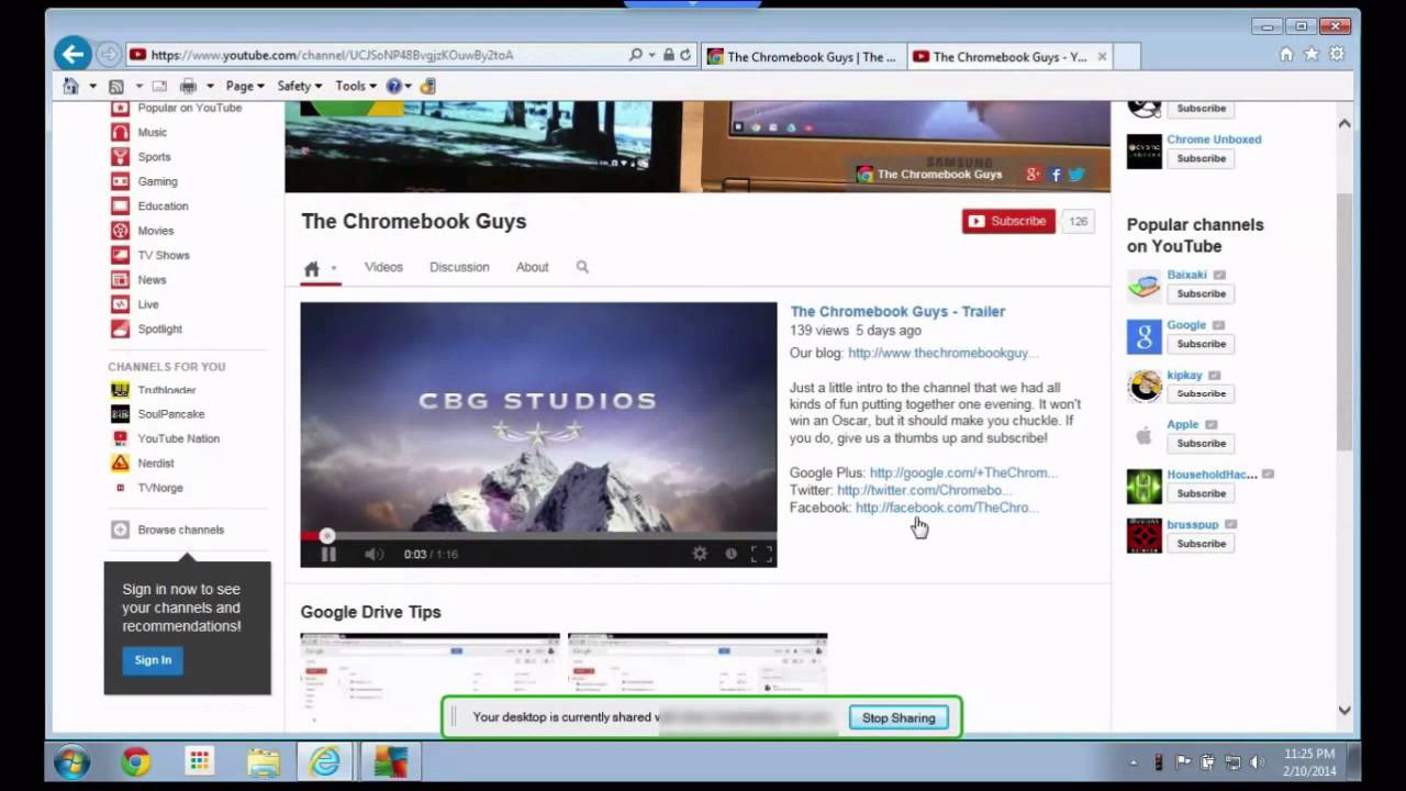 Chrome Remote Desktop From Your Chromebook
