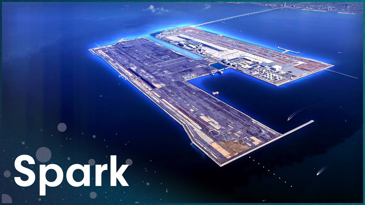 This Airport Has Its Own Island | Super Structures | Spark #1