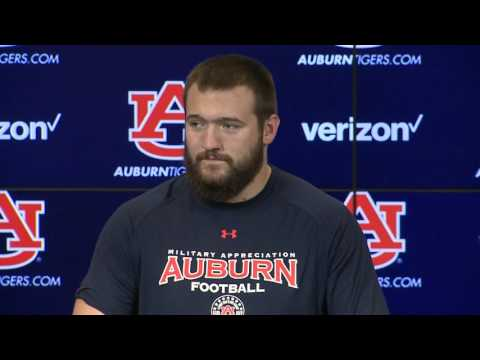 Auburn right tackle Robert Leff believes O-line ready, experienced
