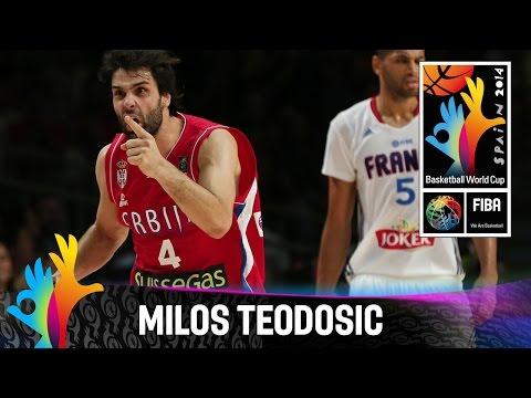 Milos Teodosic - Best Player (Serbia) - 2014 FIBA Basketball World Cup