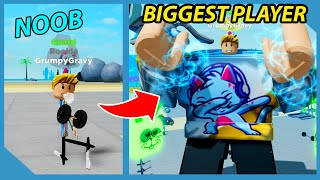 I Unlocked The Mythical Gym! Got Max Size & Muscle! | Roblox Muscle Legends
