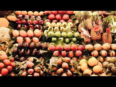 La Boqueria Food Markets // Barcelona