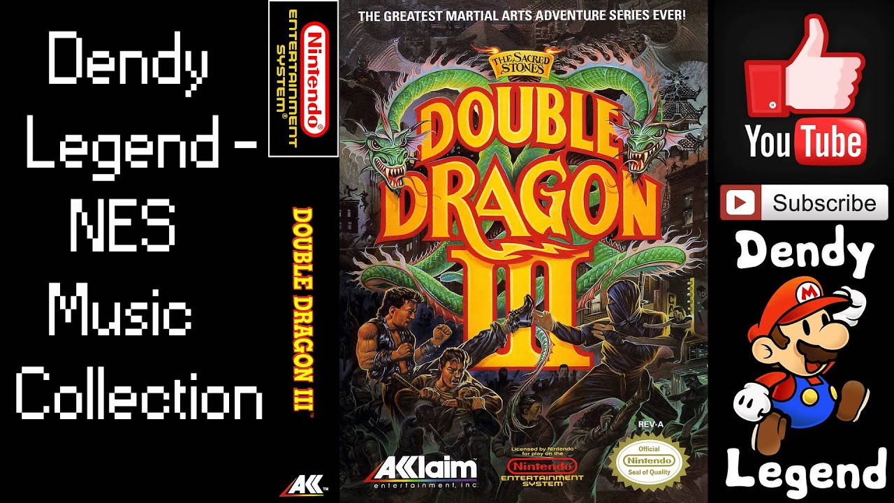 Double Dragon Iii The Sacred Stones Nes Music Song Soundtrack
