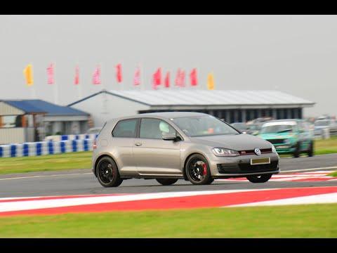 Bedford Autodrome Sept 2016 Golf Mk7 GTi Performance Pack