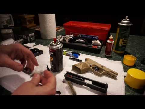 Taurus PT111 Millennium G2 FDE G2C G2S 9mm pistol cleaning.